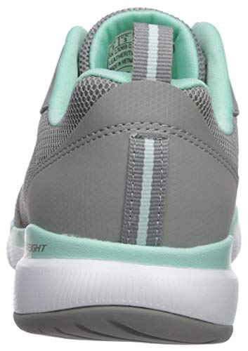 Skechers Women's Flex Appeal 3.0-go Forward Sneaker, GYMN, 5.5 M US