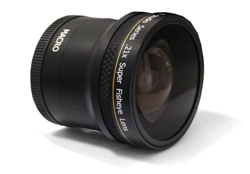 PLR Studio Series .21x Super Fisheye Lens With Macro Atta...