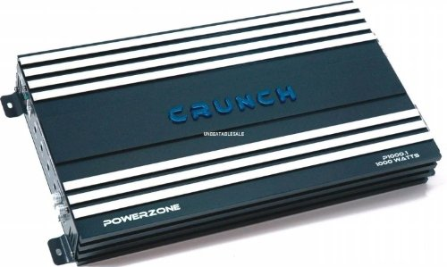 Crunch PowerZone P1000.1 1000 Maxx Watt Power A/B Class Mono Amplifier