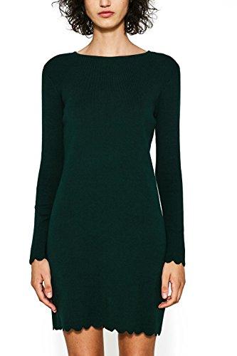 edc by Esprit, Vestido para Mujer Verde (Bottle Green 385)