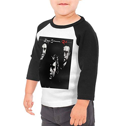Black6Red Yes Band Childrens 3//4 Sleeve T-Shirt