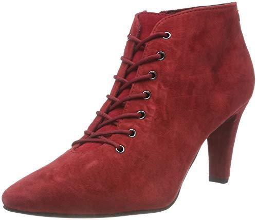 Chili Femme 31 25153 533 Tamaris Botines Rouge wqCXCUH