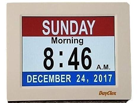Amazon.com: DayClox - Calendario digital de 5 ciclos con ...