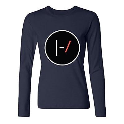 Jinnsa Women's Twenty One Pilots Logo Long Sleeve T-Shirt