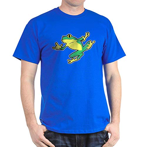 CafePress ASL Frog in Flight Dark T Shirt 100% Cotton T-Shirt