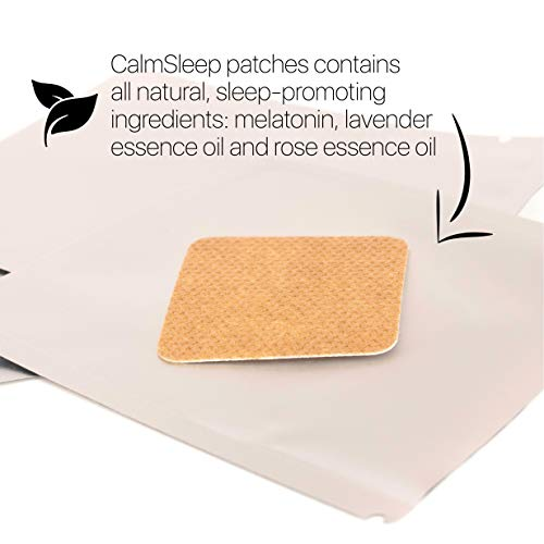 Amazon.com: Natural Sleep Aid – Sleep Patch – Melatonin Sleep Aids for Adults - 30-Pack & BONUS Sleep Mask – Improves Sleep, Promotes Relaxation, ...