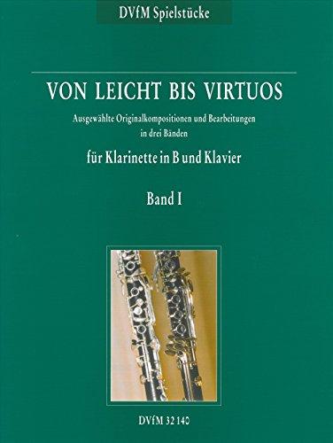 (Von Leicht Bis Virtuos Band 1 Clarinette)