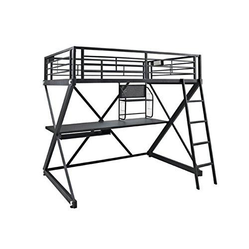 Powell Z-Bedroom Full Size Loft Study Bunk (Powell Bedroom Computer Desk)