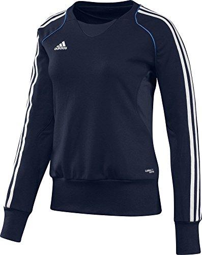 adidas Pullover T12 Team Crew Sweater X13718 - Prenda, color azul, talla DE: 52 azul