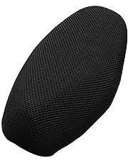 Entweg-Cushion Protector, Motorcycle Seat Cover Sunscreen Cool Cushion Protector Sun Block Heat Insulation Mesh Pad