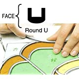 """3/16"""" Round U Lead Came - 12 Ft (Rolled & Bagged)"""