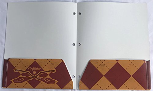 Harry Potter School Supplies Bundle - 4 Folders Representing Four Hogwarts Houses and 4 Pencils (8 pcs) by Innovative Designs (Image #2)