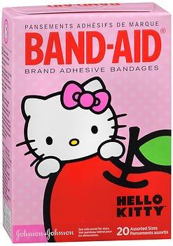 Band-Aid 包帯ハローキティアソートサイズが - 20カラット、5パック   B078YFYRF5