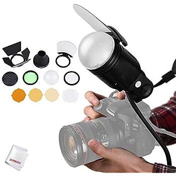 AD200 Pro V1-S Compatible with Godox V1 Flash Series Godox AK-R12 Bounce Card use with Godox H200R Round Flash Head AD200 V-1N V1-C
