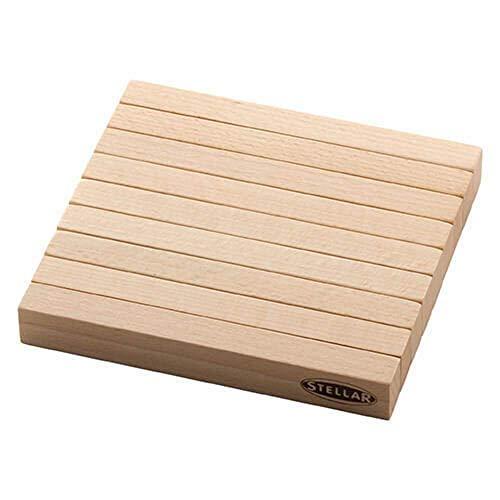 Stellar Beech Wood Wooden Extendable Heat Resistant Trivet