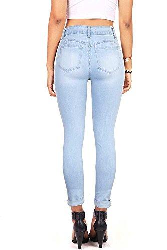 Femme Fueri Fueri Jeans Jeans Bleu XgqwaZnO