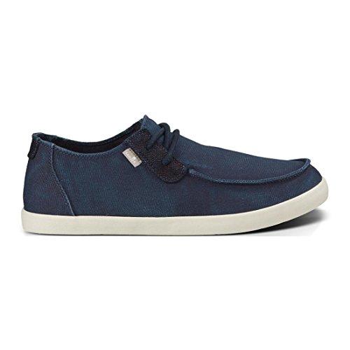 Sanuk Heren Nu-nami Sneaker Gewassen Marine