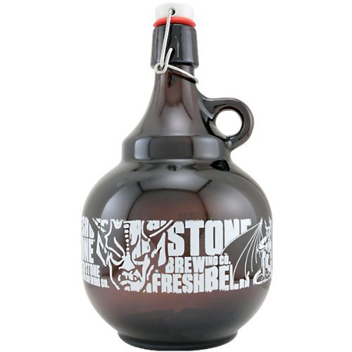 Stone Brewing Co. Swing Top 2 Liter Beer Growler (Beer Arrogant Bastard)