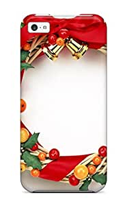 Aarooyner Snap On Hard Case Cover Holiday Christmas Protector For Iphone 5c