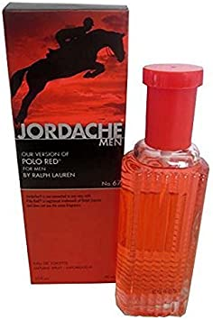 Jordache No. 67, Version of Polo Red for Men, Eau De Toilette ...