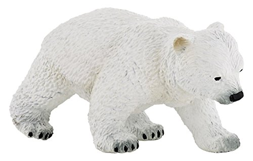 Papo Walking Polar Bear Cub Figure, Multicolor