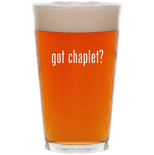 Michael Gold Cross Anthony (got chaplet? - 16oz All Purpose Pint Beer Glass)