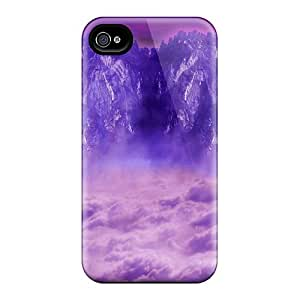 Hot Style RGq2366KqXR Protective Cases Covers For Iphone6(beautiful Purple Fantasy)