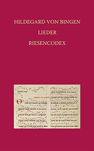 Hildegard von Bingen – Lieder: Riesencodex (Hs. 2) der Hessischen Landesbibliothek Wiesbaden fol. 466 bis 481v (Elementa Musicae, Band 1) Gebundenes Buch – 1. November 1998 Lorenz Welker Michael Klaper Reichert 389500037X