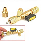 1 Set Tools of HVAC Dual Size Schrader Remover Installer Valve Core