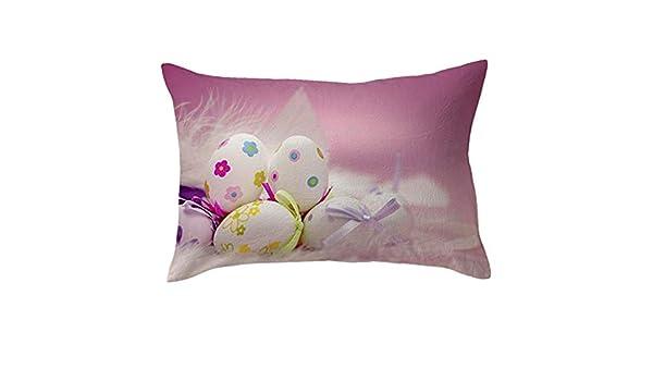 TAOtTAO - Funda de Almohada de Pascua para sofá, cojín para ...
