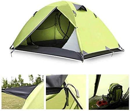 Waterdicht Waterdicht winddicht Pest Proof Lichtgewicht Camping Tent, 3-4 Seasons, Easy Set Up, Groot for Camping, Hiking 200 * 110 * 140 (cm) 8bayfa