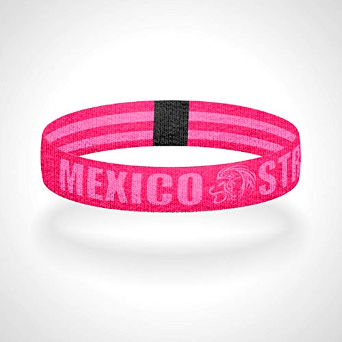 - Reversible Pinkout Mexico Strong Tribal Eagle & Snake Wristband Bracelet Anklet
