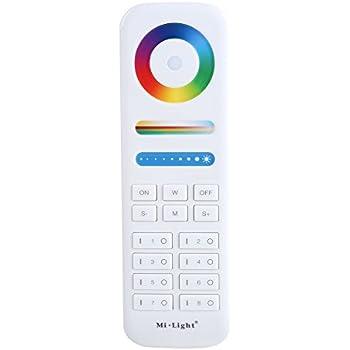 MiLight RGB+W RGBW LED Set RF Fernbedienung 4-Zone Controller WLan Wand