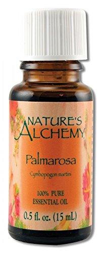 Nature's Alchemy Essential Oil, Palmarosa .5 oz (Pack of 3)