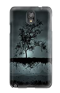 Queenie Shane Bright's Shop Best 1410123K70603492 Cute Tpu Nature Case Cover For Galaxy Note 3