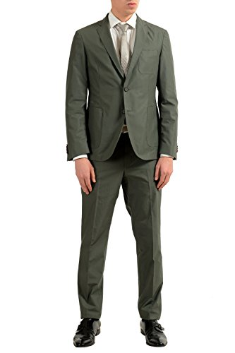 Hugo Boss Nastven/Barns-T Men's Green Two Button Suit for sale  Delivered anywhere in USA