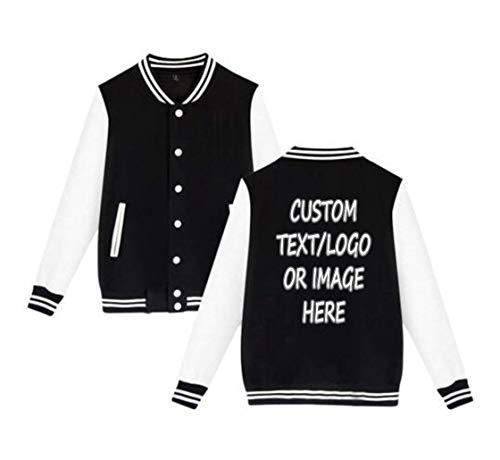 Unisex Custom Varsity Jacket Personalized Baseball Jacket Uniform Sweater -