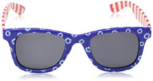 Red Femme Hipster Vans de Stripes Bleu Blue Soleil Dyed Lunettes Dots Janelle Sunglasses q7fnwUqaT