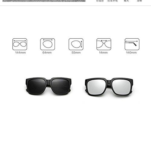 Gafas Delgadas DT Sol Color Sol 1 Gafas Coreanas de polarizadas Femeninas Gafas 3 de adxrvd