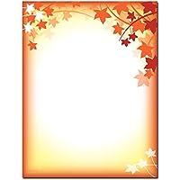 Fall Silhouette Letterhead Laser & Inkjet Printer Paper, 100 pack