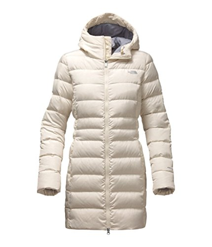 The North Face Women's Gotham Parka II - Vintage White - - Two Logo Face