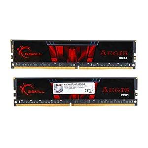 G.SKILL Aegis Series DDR4 3000MHz 32GB(16GBx2) Memory Kit