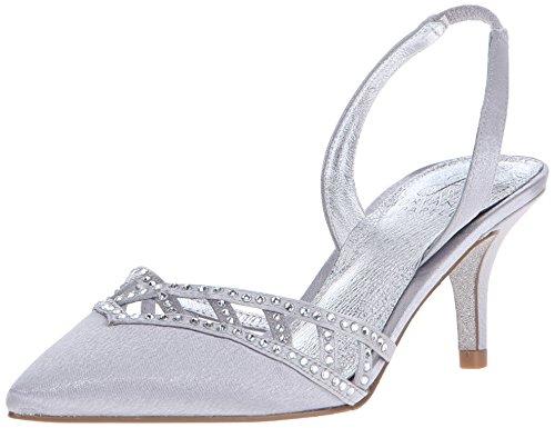 Adrianna Papell–Vestido de Haven Bomba Silver