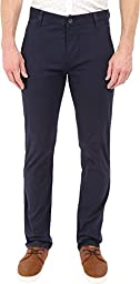 Dockers Men\'s Alpha Khaki Stretch Slim Tapered Fit Flat Front Pant, Pembroke (Stretch), 36W x 30L