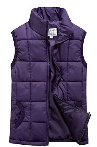 Lungo Packable Delle Outwear Leggero Piumino Sicurezza La Donne Viola Impermeabile OXcp1H1qB