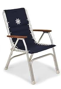 Amazon Com Forma Marine High Back Navy Blue Deck Chair