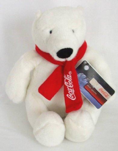 """10"""" Coca Cola Polar Bear Plush"""