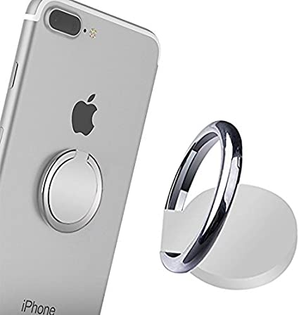 2 Pack 360/° Rotation and 180/° Flip Finger Ring Grip Stand for Magnetic Car Mount iPhone Xs Max XR X 8 7 6 6s Plus Samsung Galaxy S9 S8 Plus S7 S6 /& Other Smartphones Phone Ring Holder