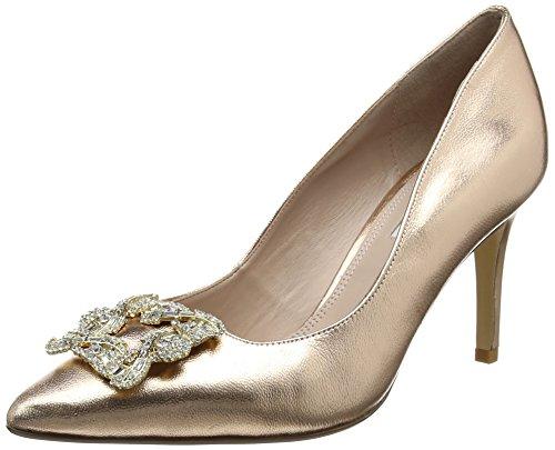 Dune Women's Betti Closed-Toe Heels Gold (Rose Gold) RwnOd