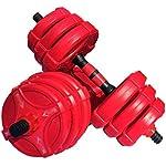 AOLI-Pesi-con-manubri-Set-2-in-1-Manubri-di-sollevamento-possono-convertire-in-manubri-regolabili-Bilanciere-Palestra-per-uso-domestico-Fitness-Manubri-Attrezzature-per-fitness-Manubri20kg-10kg-2